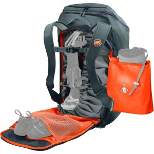 MOCHILA DE ESCALADA MAMMUT NEON GEAR BACKPACK 45 LITERS – GRAPHITE