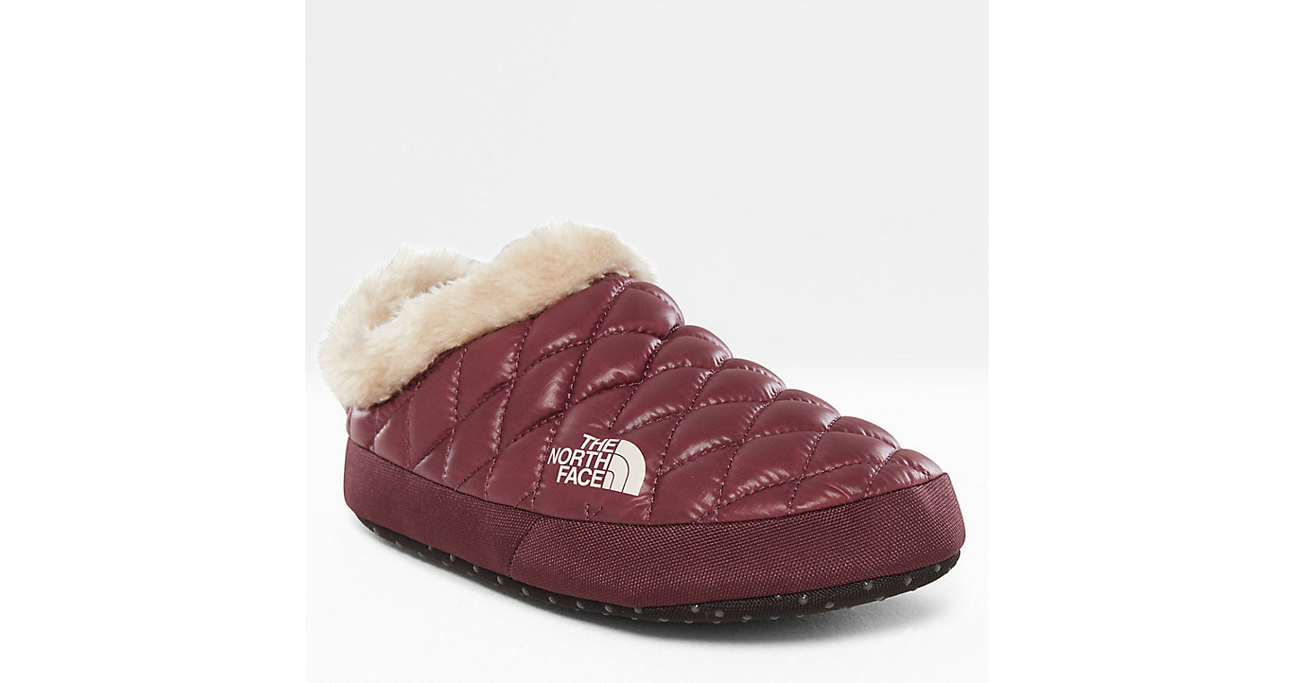 PANTUFLAS THERMOBALL™ TENT MULE FAUX FUR IV PARA MUJER