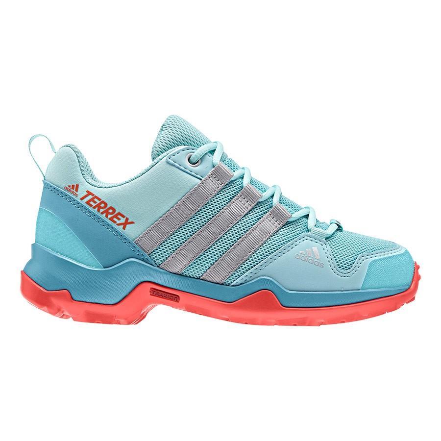 BY1609 zapatillas trekking niña niño impermeable terrex ax2r cp k (1)