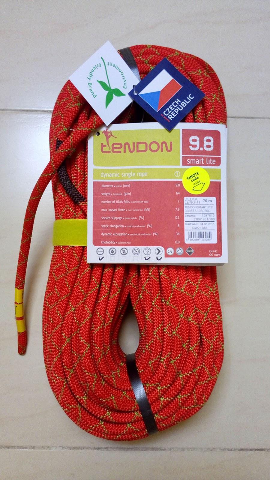 CuerdaTendon Smartlite 70m 9.8 mm