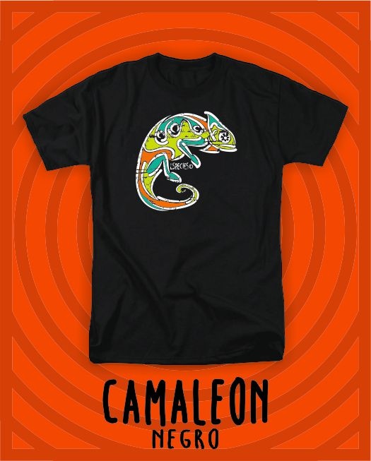 CAMISETA SPECIES CAMALEÓN