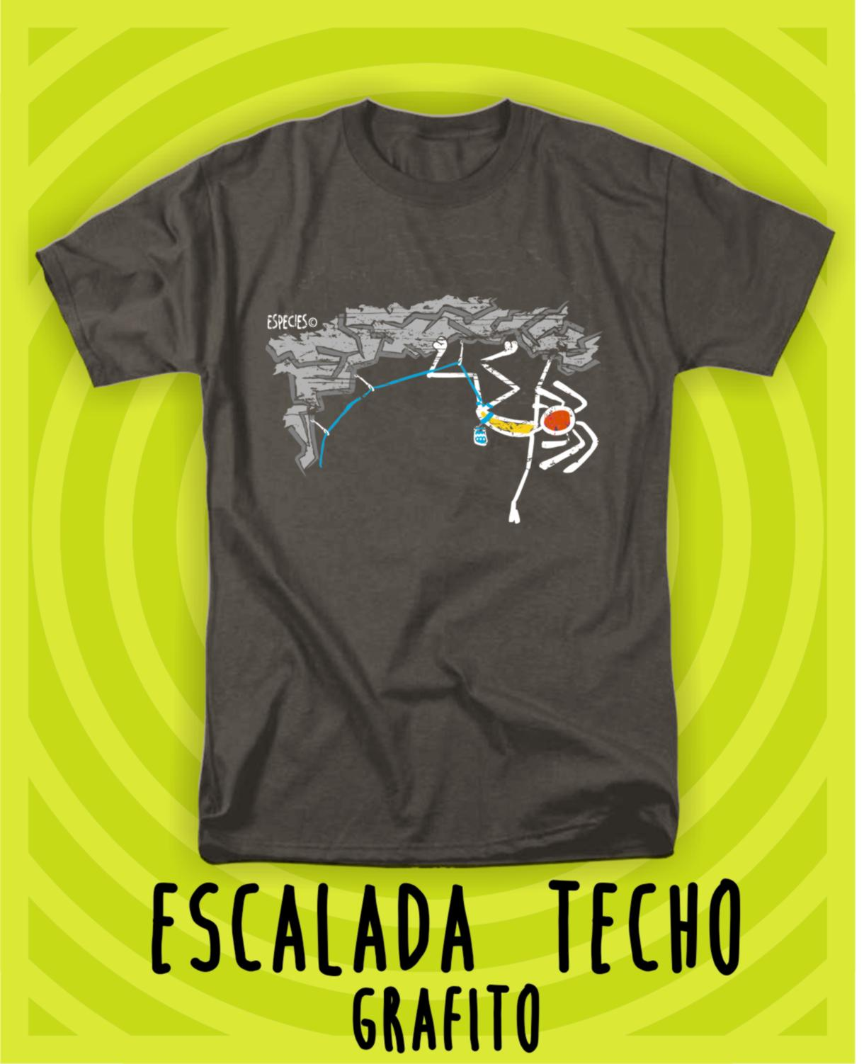 CAMISETA SPECIES ESCALADA TECHO