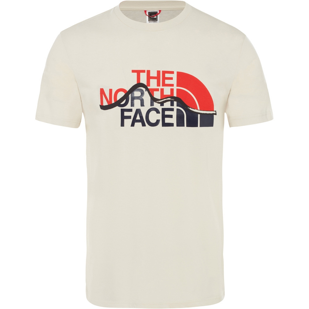 CAMISETA THE NORTH FACE M S/S MOUNT LINE TEE
