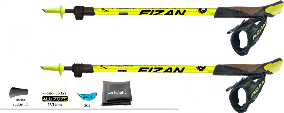 fizan-revolution-yellow-regulowane-kije-z-ostrym-grotem