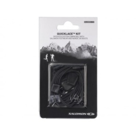RECAMBIO QUICKLACE KIT BLACK SALOMON