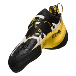 PIE DE GATO SOLUTION WHITE/YELLOW  LA SPORTIVA
